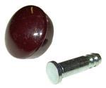 1952-1953 Side window crank knob