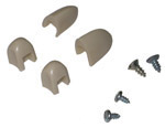 1955-1959 Heater control lever knobs