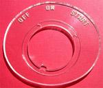 1955-1959 Ignition bezel
