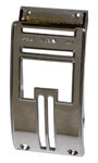 1955-1959 Deluxe heater control chrome bezel