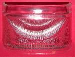 1940-1953 License lamp lens