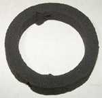 1954-1959 License lamp lens gasket