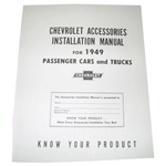 1949 Accessory installation manual