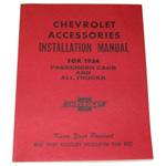 1954 Accessory installation manual