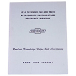 1958 Accessory installation manual