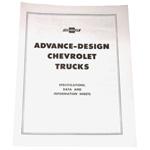 1947-1955 Advance design trucks pamphlet