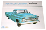 1958 Sales brochure for light duty trucks