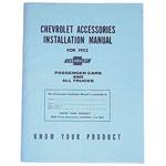 1952 Accessory installation manual