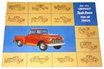1956 Sales brochure for light duty trucks