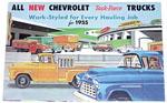 1955 (2nd Series) Sales brochure for light duty trucks
