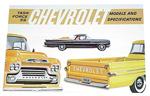 1959 Sales brochure for light duty trucks