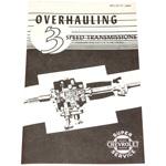 1948-1954 Transmission overhaul manual
