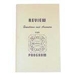 1936-1946 Mechanics study guide booklet