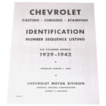 1929-1942 Casting number guide copy