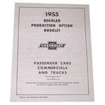 1954 Regular production options booklet