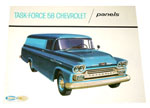 1958 Sales brochure for Panel trucks