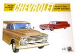 1959 Sales brochure for Panel trucks
