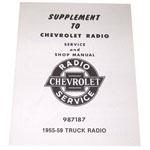 1955-1959 Radio shop pamphlet