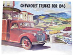 1946 Sales brochure for light duty trucks