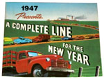 1947 Sales brochure