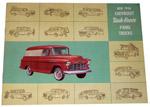 1956 Sales brochure for Panel trucks