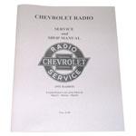 1947-1953 Radio service and shop manual originally for 1951