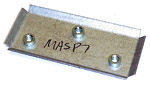 1967-1972 Mirror arm securing plate