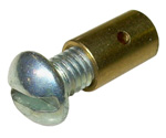 1937-1959 Brass stop for throttle cable