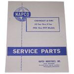 1956-1959 Napco <B>parts</B> manual