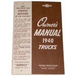 1940 Owners manual