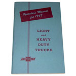 1947 Owners manual