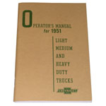 1951 Owners manual