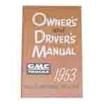 1953 Owners manual