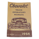 1954 Owners manual