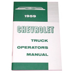1959 Owners manual