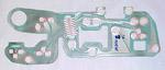 1981-1987 Printed circuit dash cluster wiring