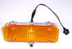 1971-1972 Parklight/signal lamp assembly