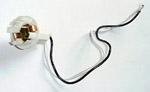 1967-1972 Parklight socket assembly