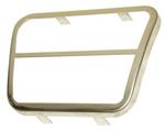 1960-1972 Bezel for brake or clutch pedal