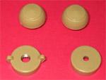 1947-1953 Radio knobs