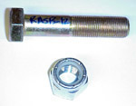 1960-1972 Nut and bolt for rear axle stabilizer bar to frame
