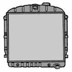 1955-1959 Radiator