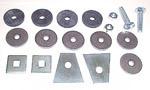 1960-1968 Radiator core support mounting kit