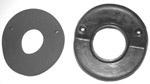 1947-1955 Steering column rubber over metal floor seal and foam pad