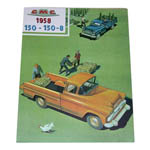 1958 Sales brochure for Series 150 trucks