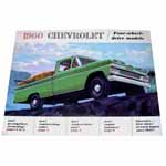 1960 Sales brochure for Four-wheel-drive models