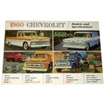 1960 Sales brochure for light duty trucks