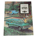 1967 Sales brochure for Suburbans and Panels