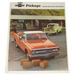 1969 Sales brochure for light duty trucks