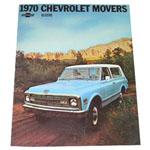 1970 Sales brochure for Blazers
